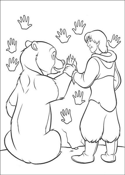 Brother Bear Coloring Pages 2