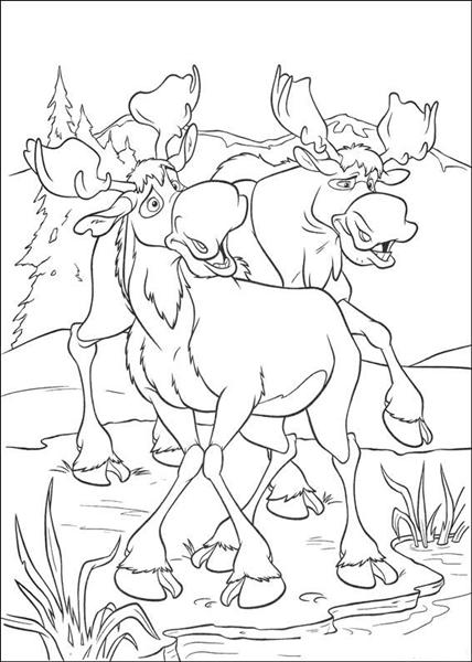 Brother Bear Coloring Pages 3