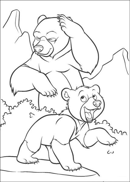 Brother Bear Coloring Pages 8