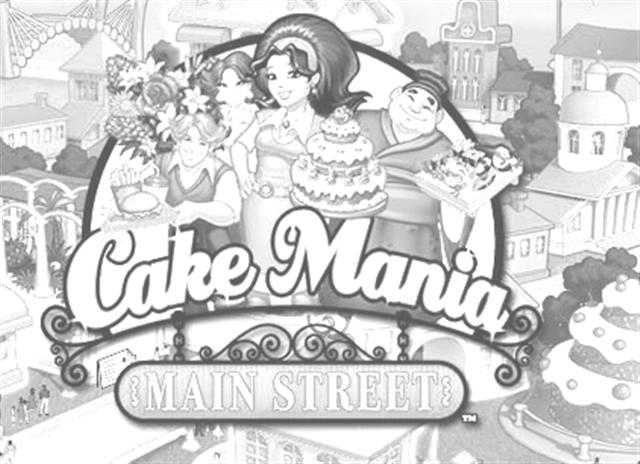 Cake Mania Coloring Pages 1