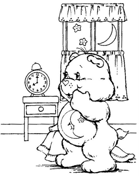 Care Bear Coloring Pages 8
