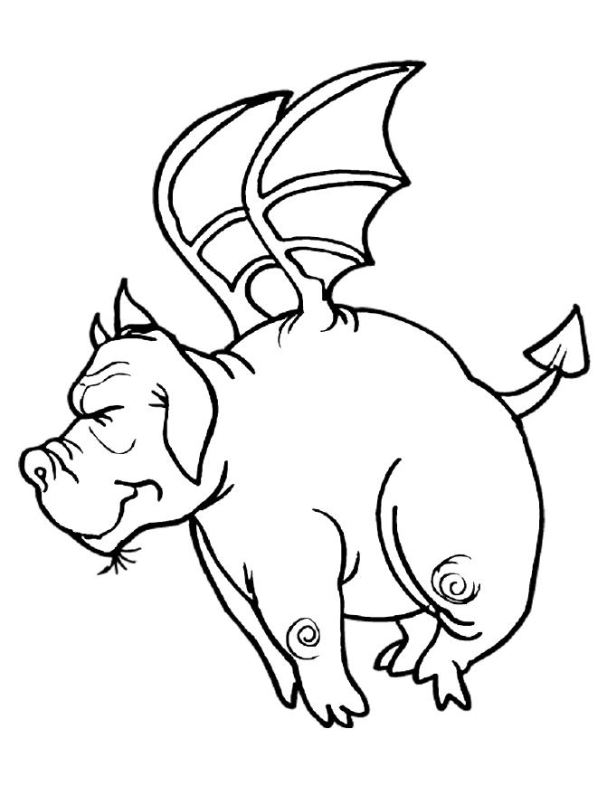 Cartoon Coloring Pages 8