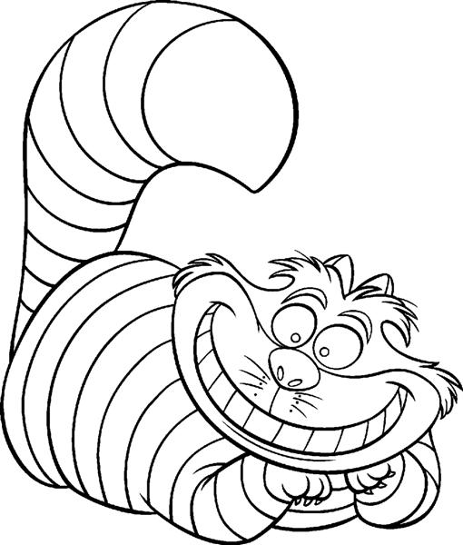 Cartoon Coloring Pages 12