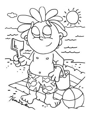 Children Coloring Pages 3