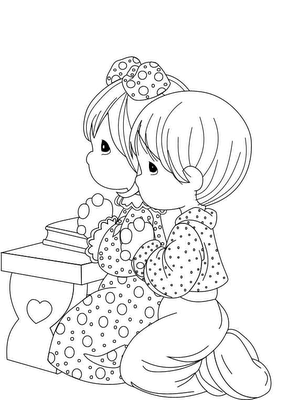 Children Coloring Pages 4