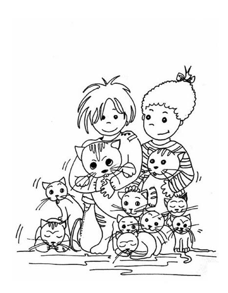 Children Coloring Pages 5