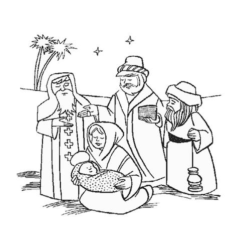 Christian Coloring Pages 8