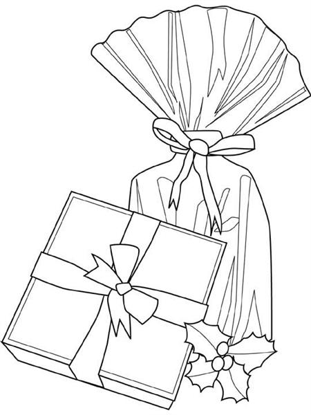 Free Christmas Coloring Pages 4