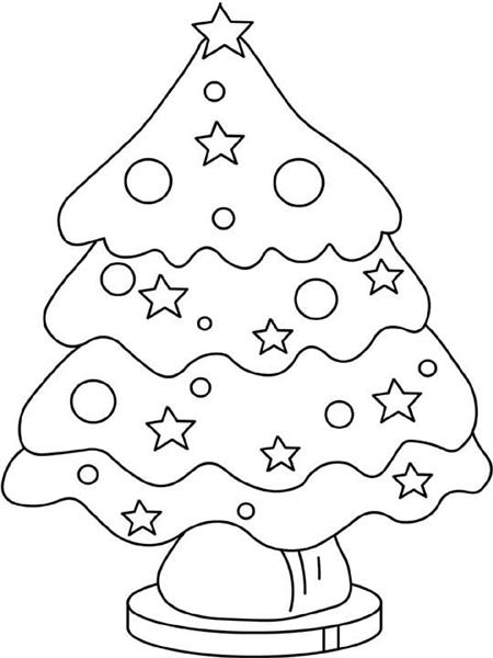 Free Christmas Coloring Pages 7