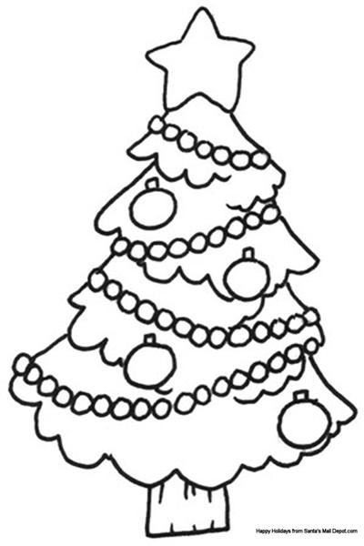 Free Christmas Coloring Pages 8