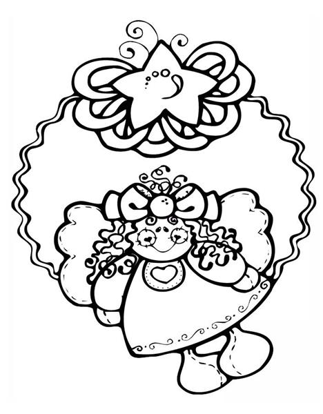 Free Christmas Coloring Pages 10