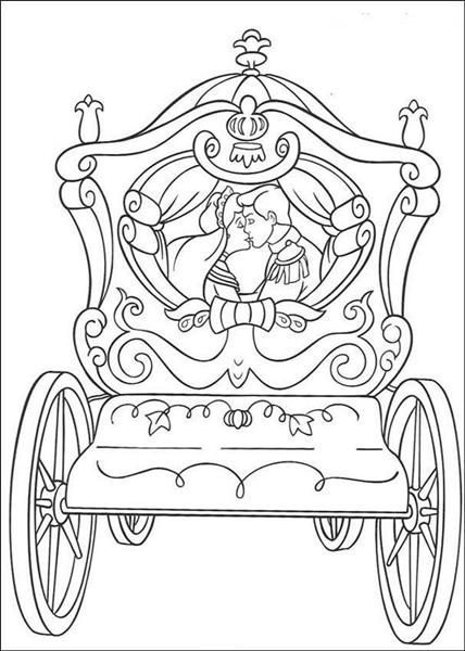 Cinderella Coloring Pages 2