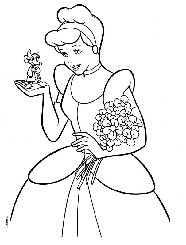 cinderella coloring pages 10 cinderella coloring pages 11 - Cinderella Coloring Pages