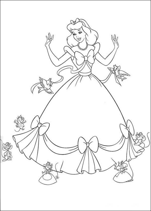 Cinderella 3 Coloring Pages 4