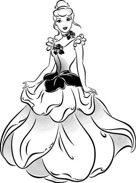 Cinderella 3 Coloring Pages 8