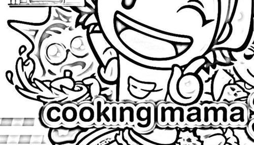 Cooking Mama Coloring Pages 9