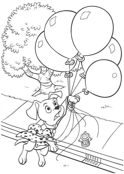 Dalmation Coloring Pages 5