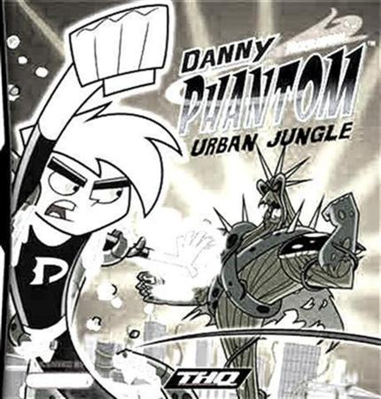 Danny Phantom Urban Jungle Coloring Pages 1