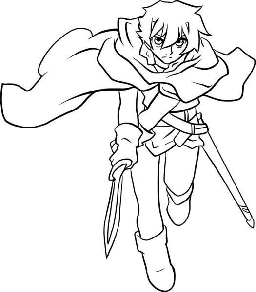 Deltora Quest Coloring Pages 4