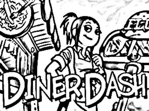 Diner Dash Coloring Pages 1