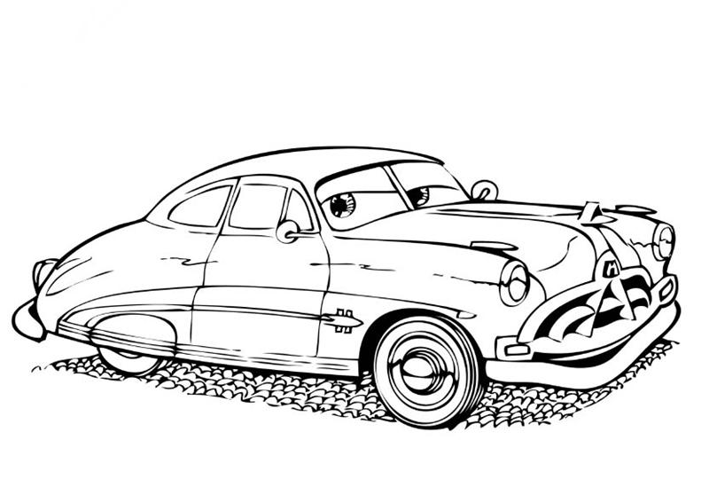 Disney Cars Coloring Pages 2