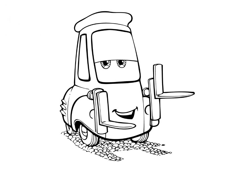 Disney Cars Coloring Pages 3