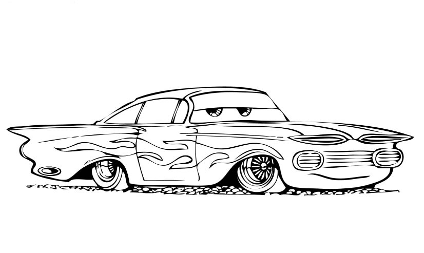 Disney Cars Coloring 4