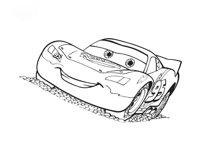 Disney Cars Coloring 6