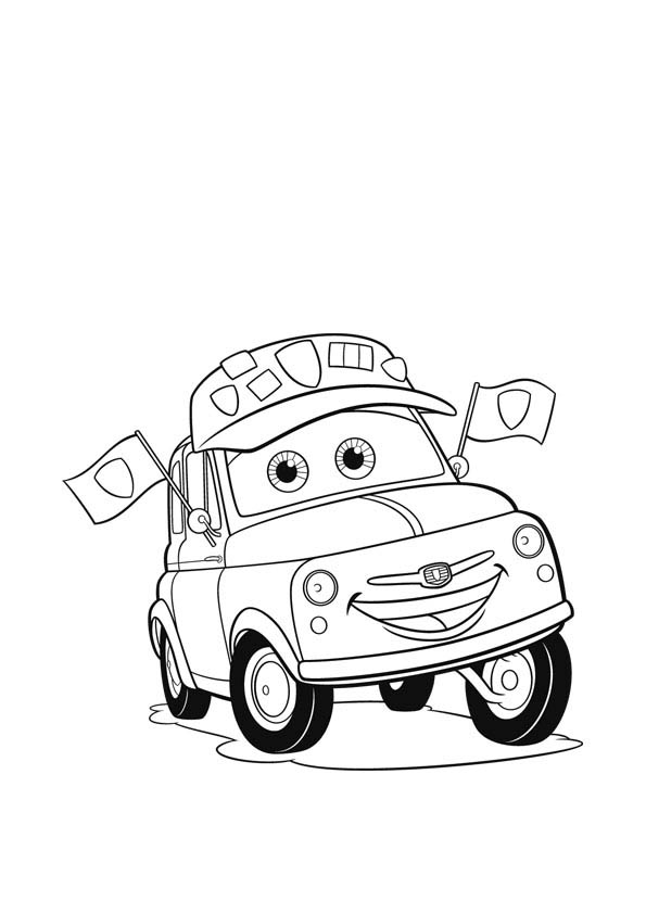 Disney Cars Coloring 11