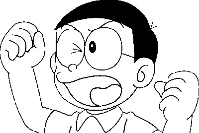 Doraemon Coloring Pages 1
