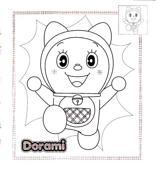 Doraemon Coloring Pages 10