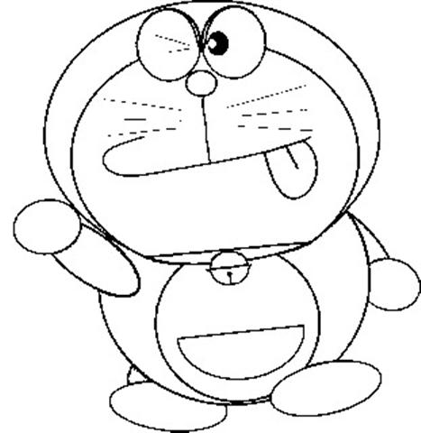 Doraemon Coloring Pages 2