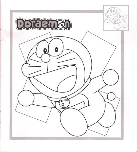 Doraemon Coloring Pages 6