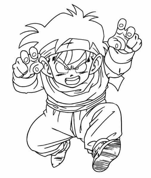 Dragon Ball Coloring Pages 1
