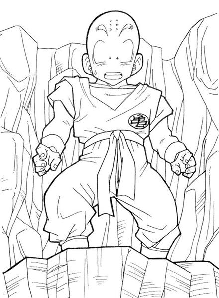 Dragon Ball Coloring Pages 2