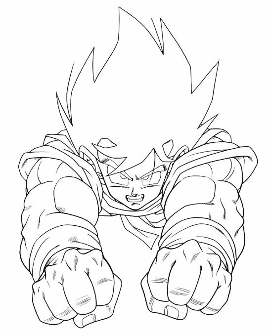 Dragon Ball Coloring Pages 3