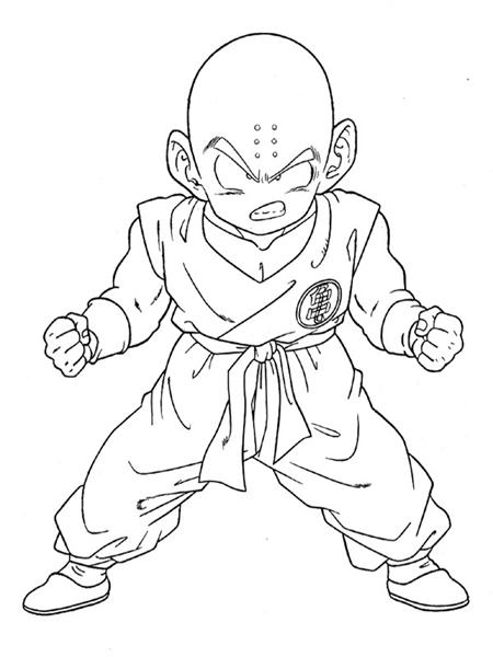 Dragon Ball Coloring Pages 4