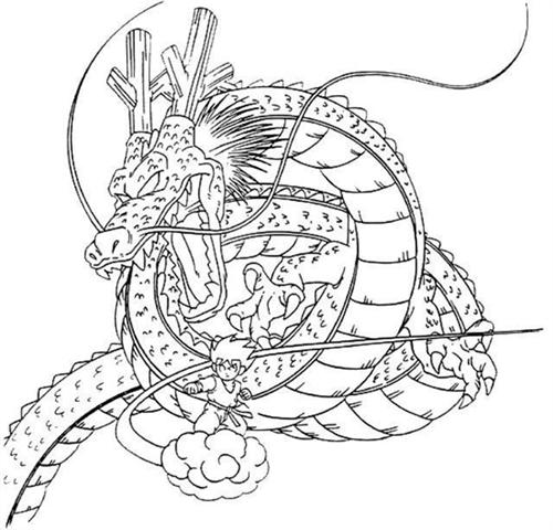 Dragon Ball Z Coloring Pages 9