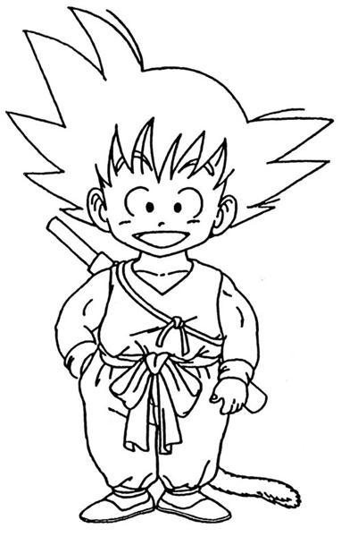 Dragon Ball Z Coloring Pages 10