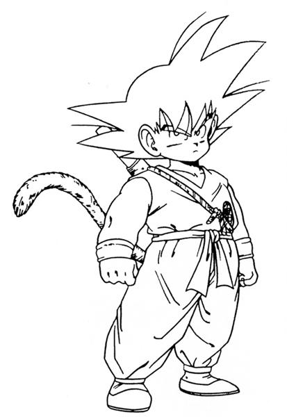 Dragon Ball Z Coloring Pages 11