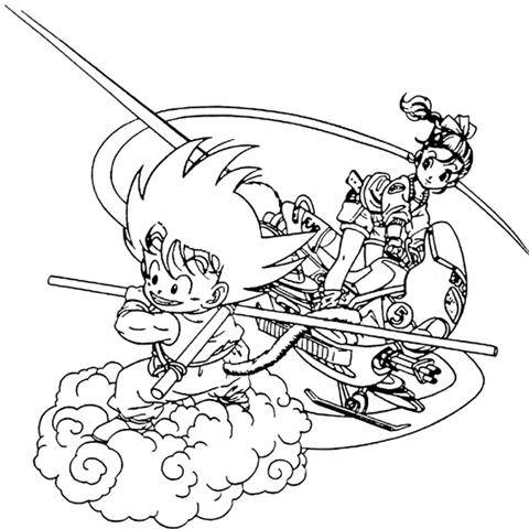 Dragon Ball Z Coloring Pages 12