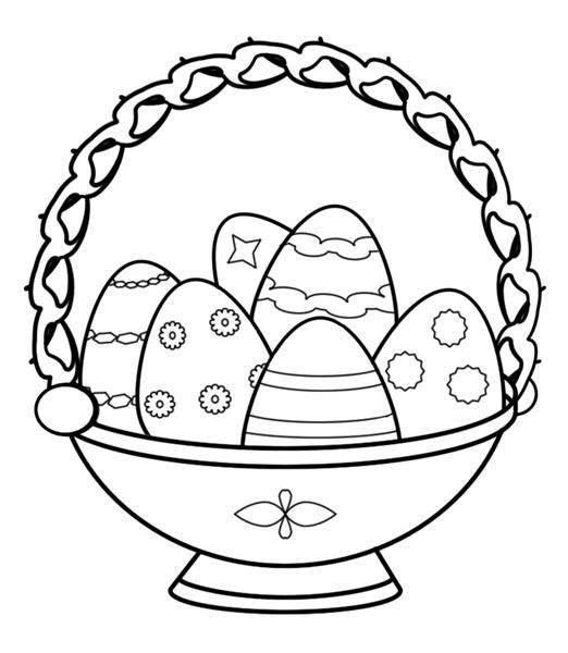 Printable Easter Coloring Pages 11