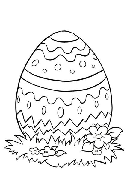 Printable Easter Coloring Pages 12