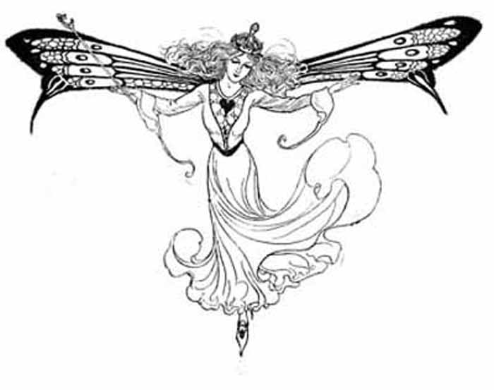 Fairies Coloring Pages 2