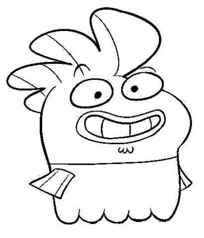Fish Hooks Coloring Pages 11