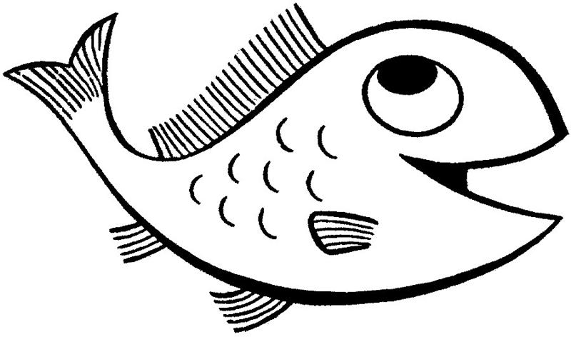 Fish Coloring Pages | Coloring Fish
