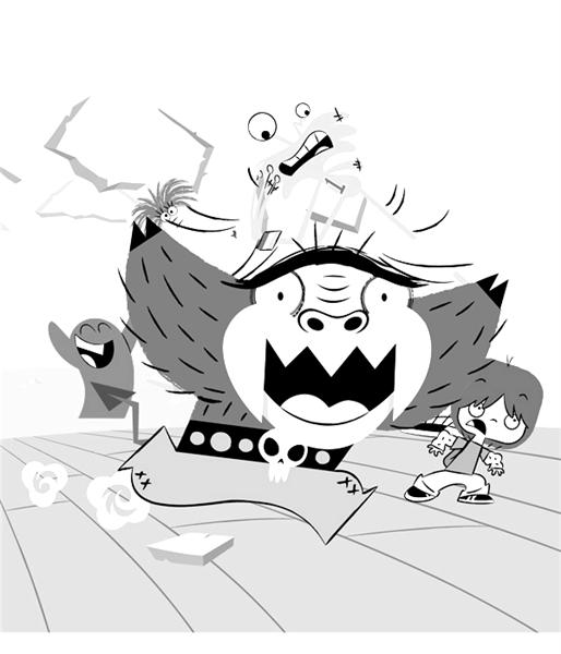 Fosters Home for Imaginary Friends Coloring Pages 9