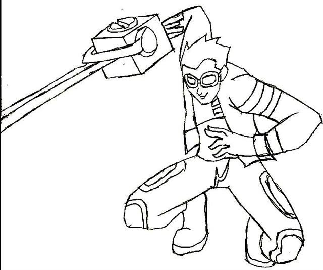 Generator Rex Coloring Pages 1