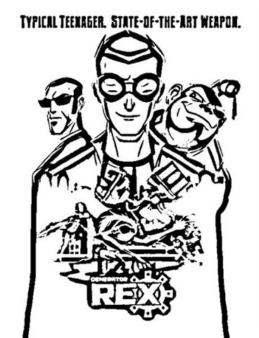 Generator Rex Coloring Pages 11