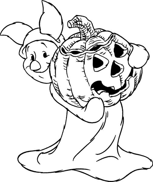 Halloween Coloring Pages 3